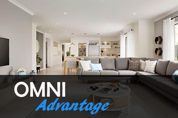 living room designed by omni