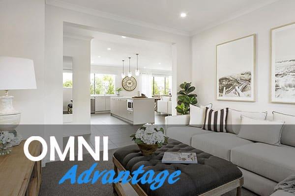 Spacious beautiful living room   Omni Built Homes