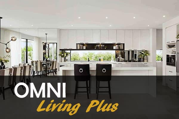 kitchen designed in omni living plus range