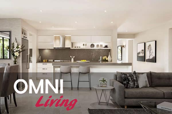 Spacious dining and kitchen area   Omni Built Homes