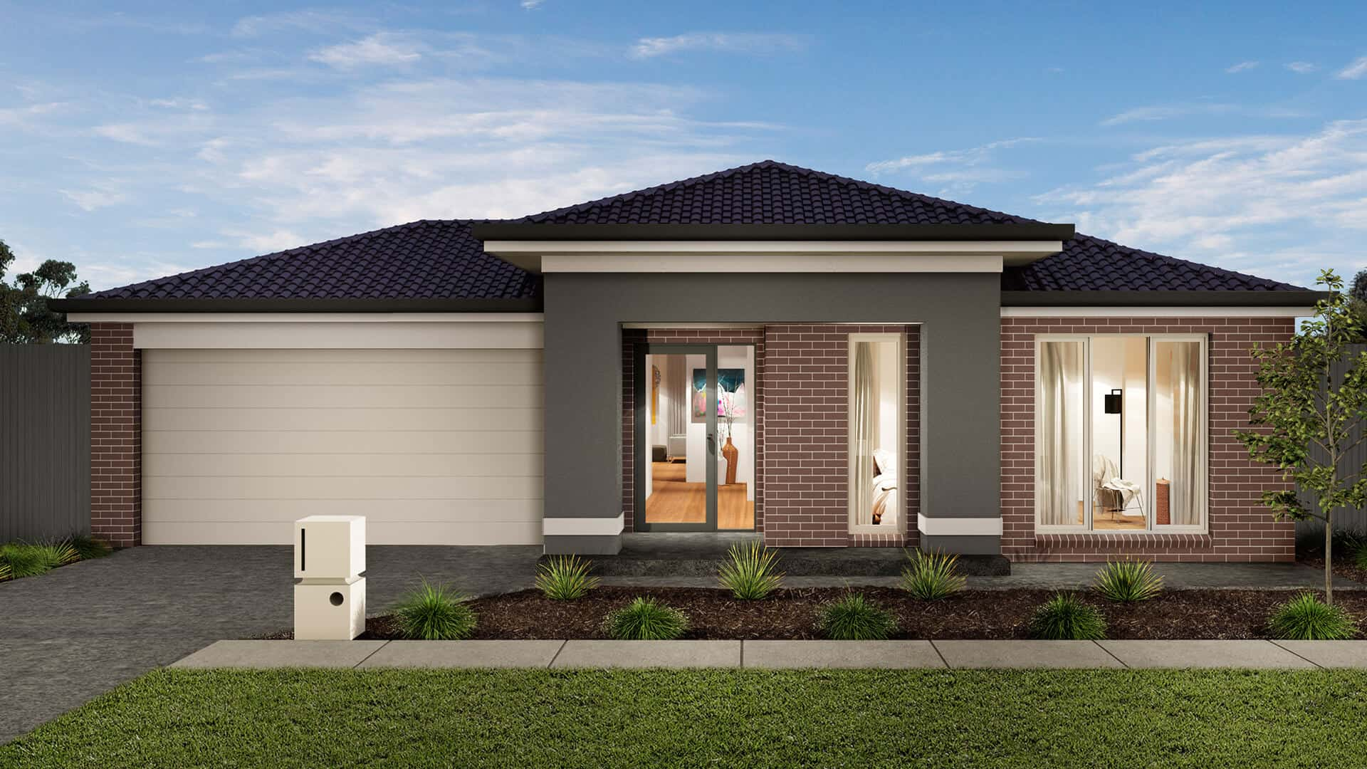 contemporary style home Brisbane