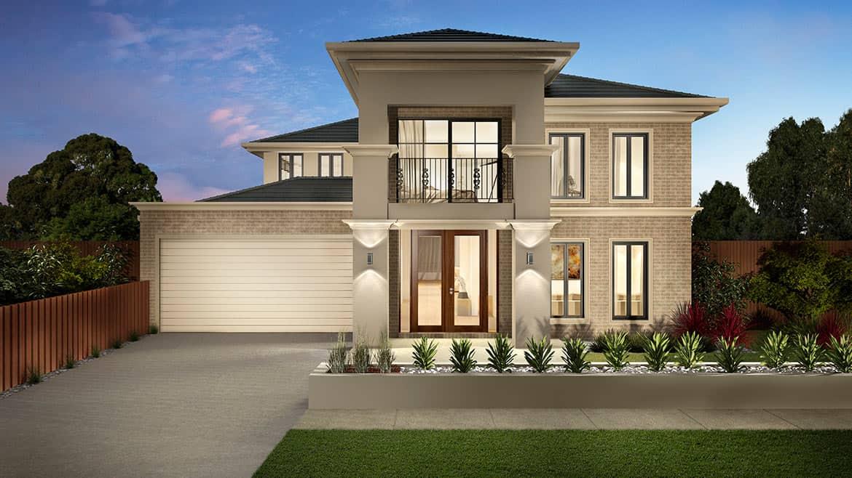 Balmoral dual living shoreline facade
