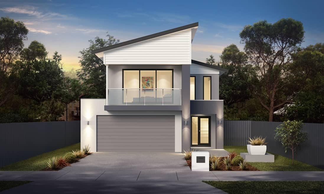 Ascot 36 Whitehaven Facade - Omni Built Homes