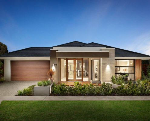 modern one storey family home
