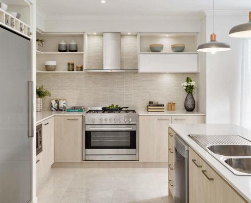 spacious residential kitchen