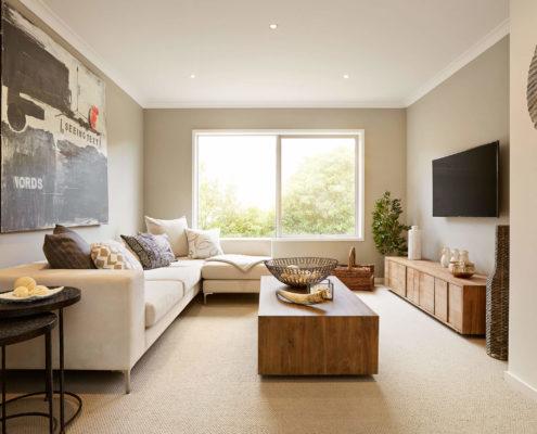 spacious open plan living