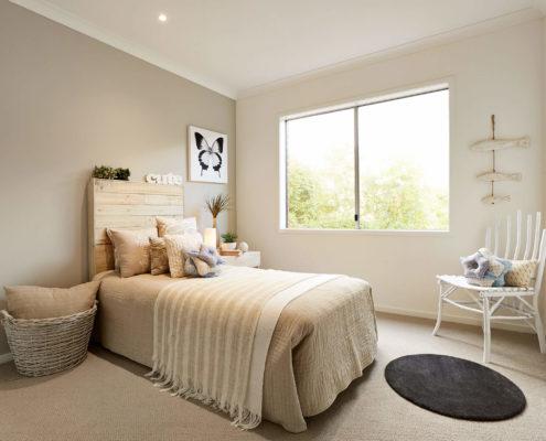 well kept bedroom