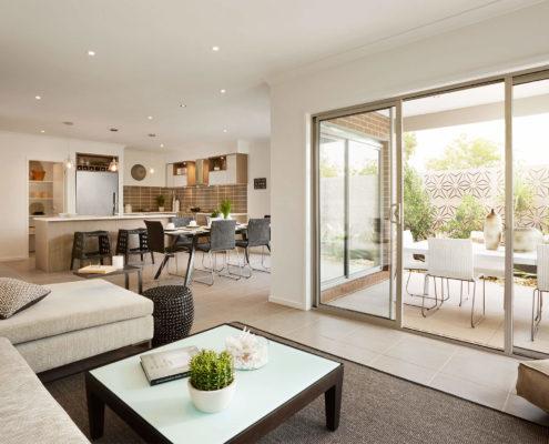 modern residential living space
