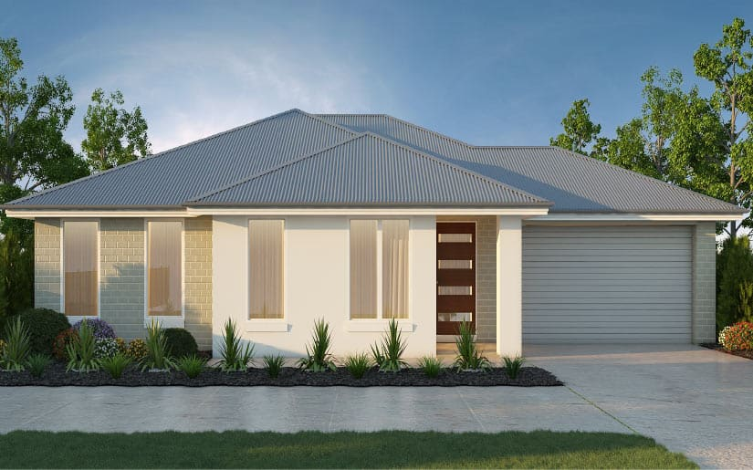 Oxley 20 with Hayman Facade – Lot 3 Sweetman Pl Hillcrest