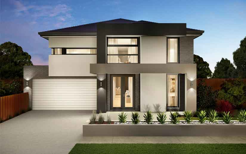 Sorrento 40 Akira Facade – Lot 114 Superior Prd Bridgeman Downs