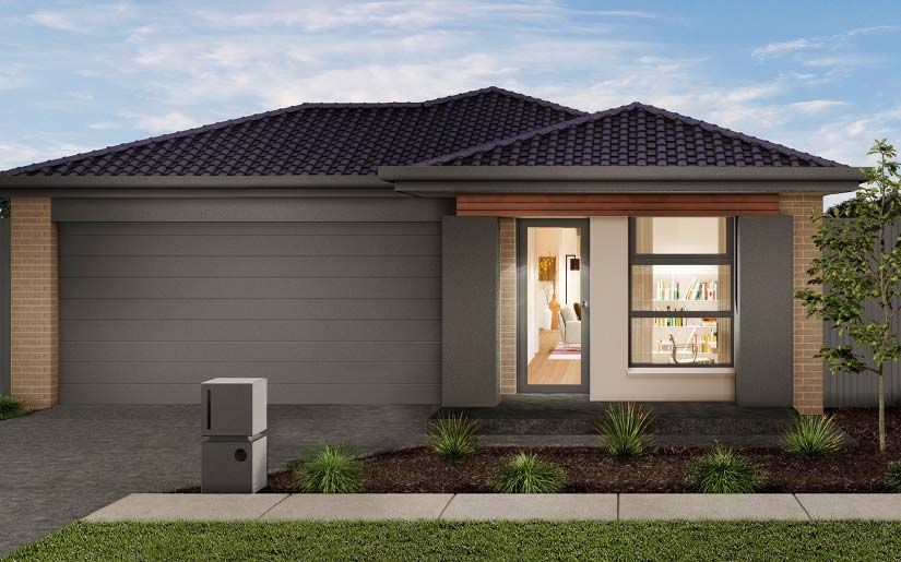 Bayview 19 Freemont Facade – Lot 121 Abbeydale Rd Harvest Rise