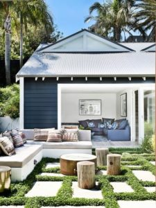 Exterior Colour Ideas - Modern Coastal