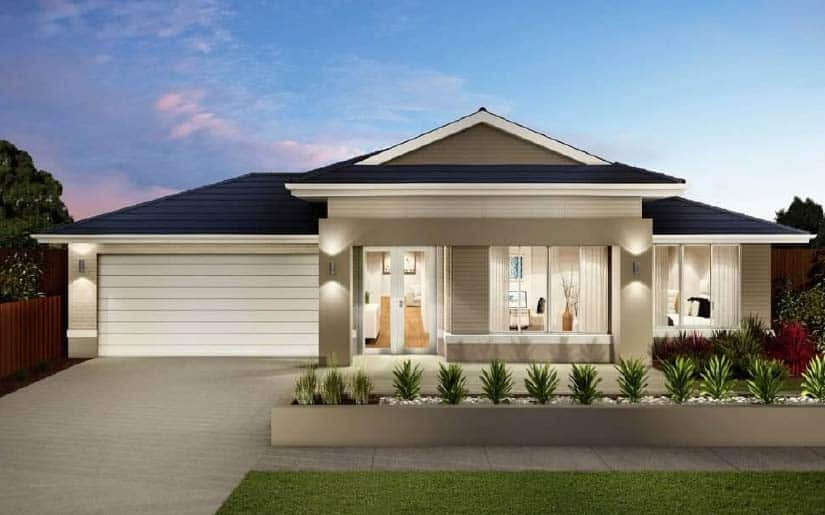 Indiana 35 with Daintree Facade – Lot 10 Westland Crt Forestdale