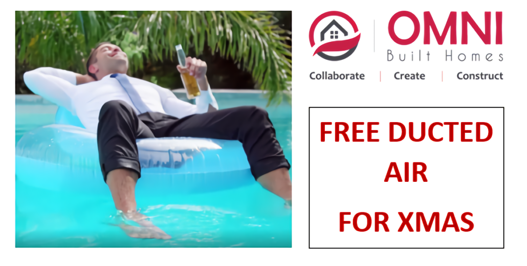 Free Ducted AIr for Xmas Promotion