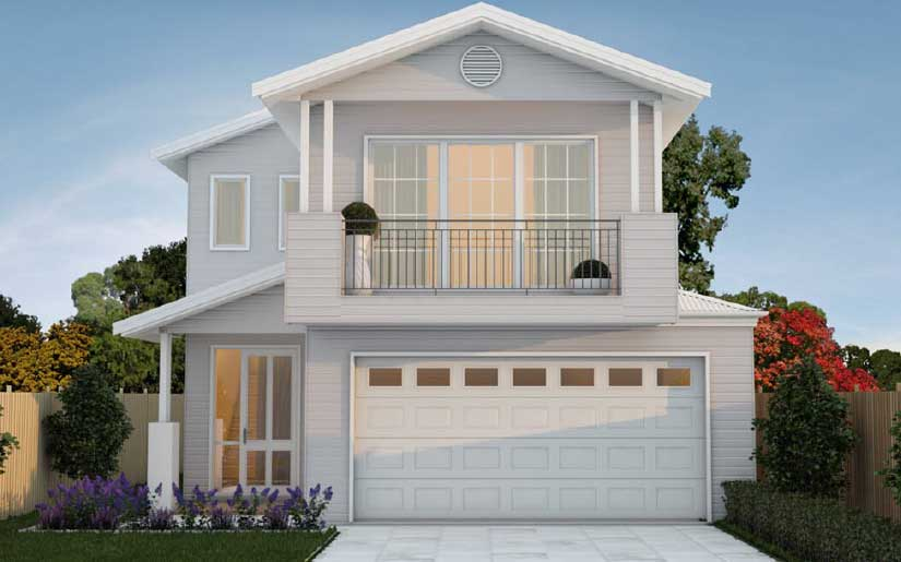 Ascot 36 Amity Facade – Lot 46 Evergreen Arise at Rochedale
