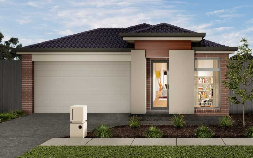 Bayview 19 with Redmond Facade – Lot 532 Lapwing Drive Brookhaven Bahrs Scrub