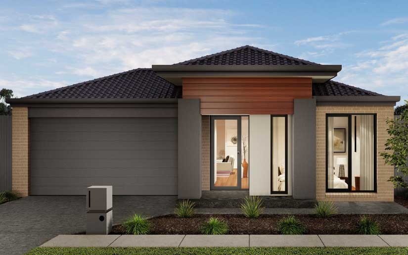 Newbury 23 With Sedona Facade – Lot 323 Maguire St Monterea Ripley