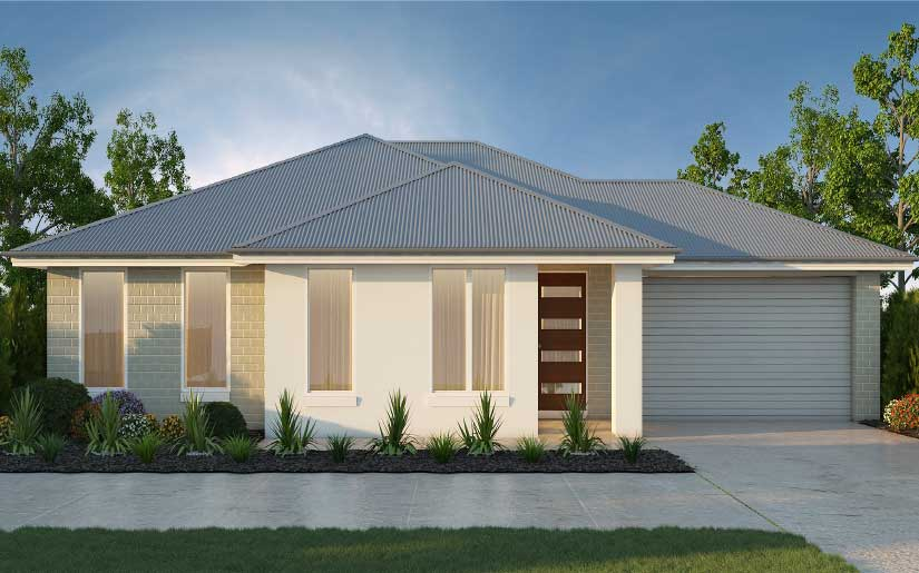 Oxley 20 with Hayman Facade – Lot 4 Sweetman Pl Hillcrest