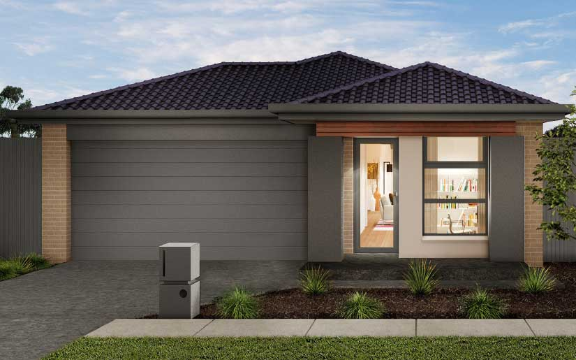 Bayview 19 with Freemont Facade – Lot 93 Dunaden St Middleton Park Logan Reserve