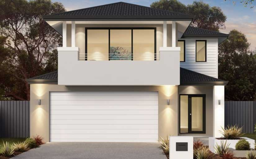 Ascot 32 with Kirra Facade – Lot 14 Mayfair at Rochedale