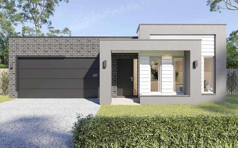 Hamilton 22 (4 Bed Option) with Cubic Facade – Lot 238 Niels Crescent, Solander Estate, Park Ridge