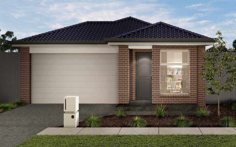 Bayview 19 with Briar Facade – Lot 8 Finch Court Loganlea