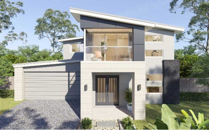 Sanctuary 42 – Cove Facade – Lot 8 Heritage Cl Sunnybank Hills