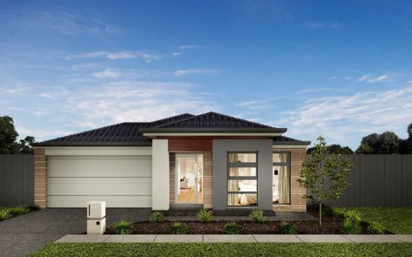 Manly 21 – Redmond Facade – Lot 18 New Road Park Ridge – Greenridge Estate