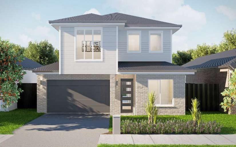 Somerville 30 – Metro Facade – Lot 24 Boolong St Tingalpa Edenwood Estate