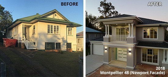 Montpellier 48 before & after | Featured image for why knock down and rebuild blog.